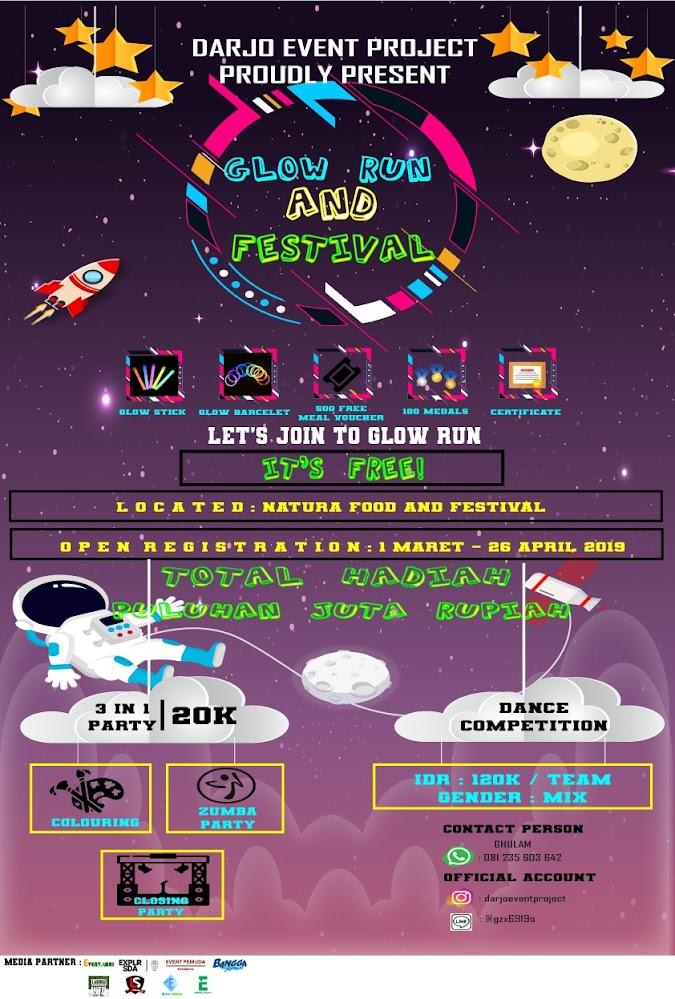 Sidoarjo Glow Run and Festival • 2019