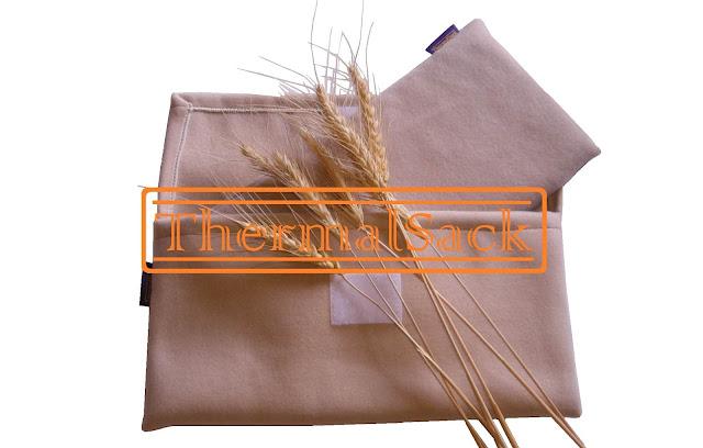 cojines térmicos de trigo ecológico