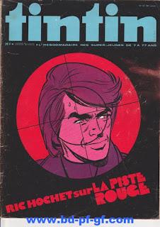 Tintin numéro 51, 1975, Ric Hochet