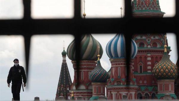 Rusia es el tercer país con más positivos al nuevo coronavirus