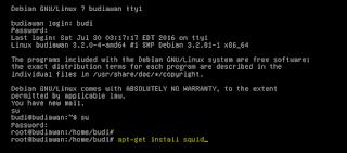 Blok Situs menggunakan proxy server di debian