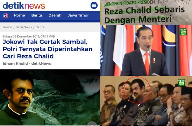 Lama Dicari Polisi, Reza Chalid Nongol Sebaris dengan Menteri Dengerin Pidato Jokowi di Nasdem