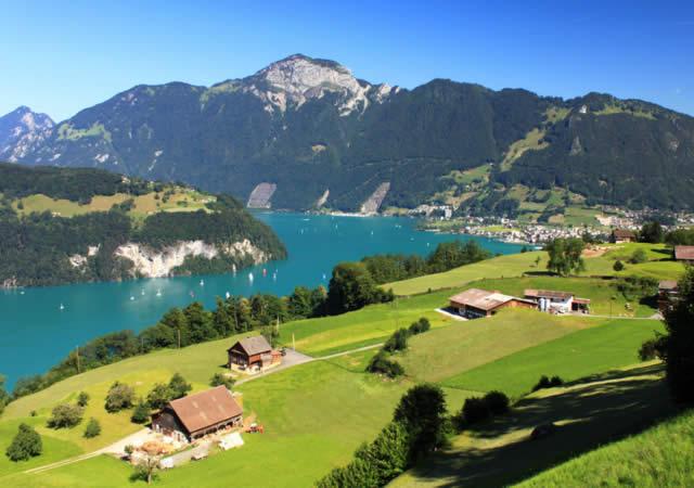 Brunnem - Lago Lucerna, Suíça - Switzerland