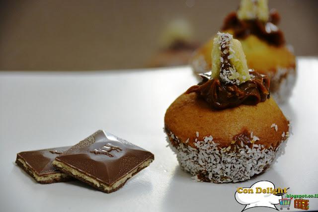 קאפקייק אלפחורס Alfajores cupcake
