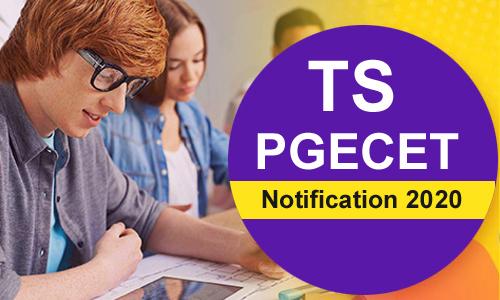 Telangana PGECET Notification 2020