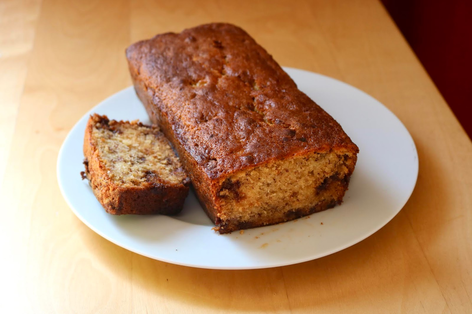 Chocolate & Banana Loaf Recipe