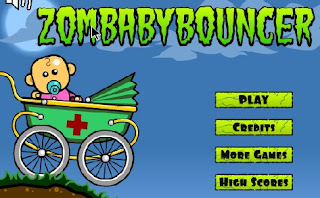 Zombaby Bouncer Racing Games
