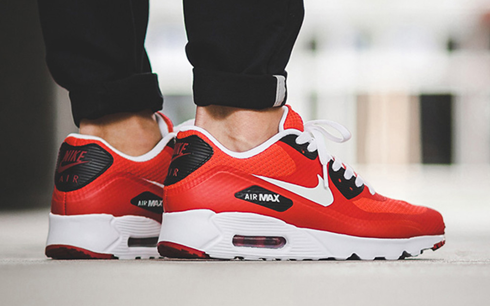 nike air max 90 ultra essential gym red retro