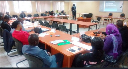 Photos from the on going 5 days EFCC Training
