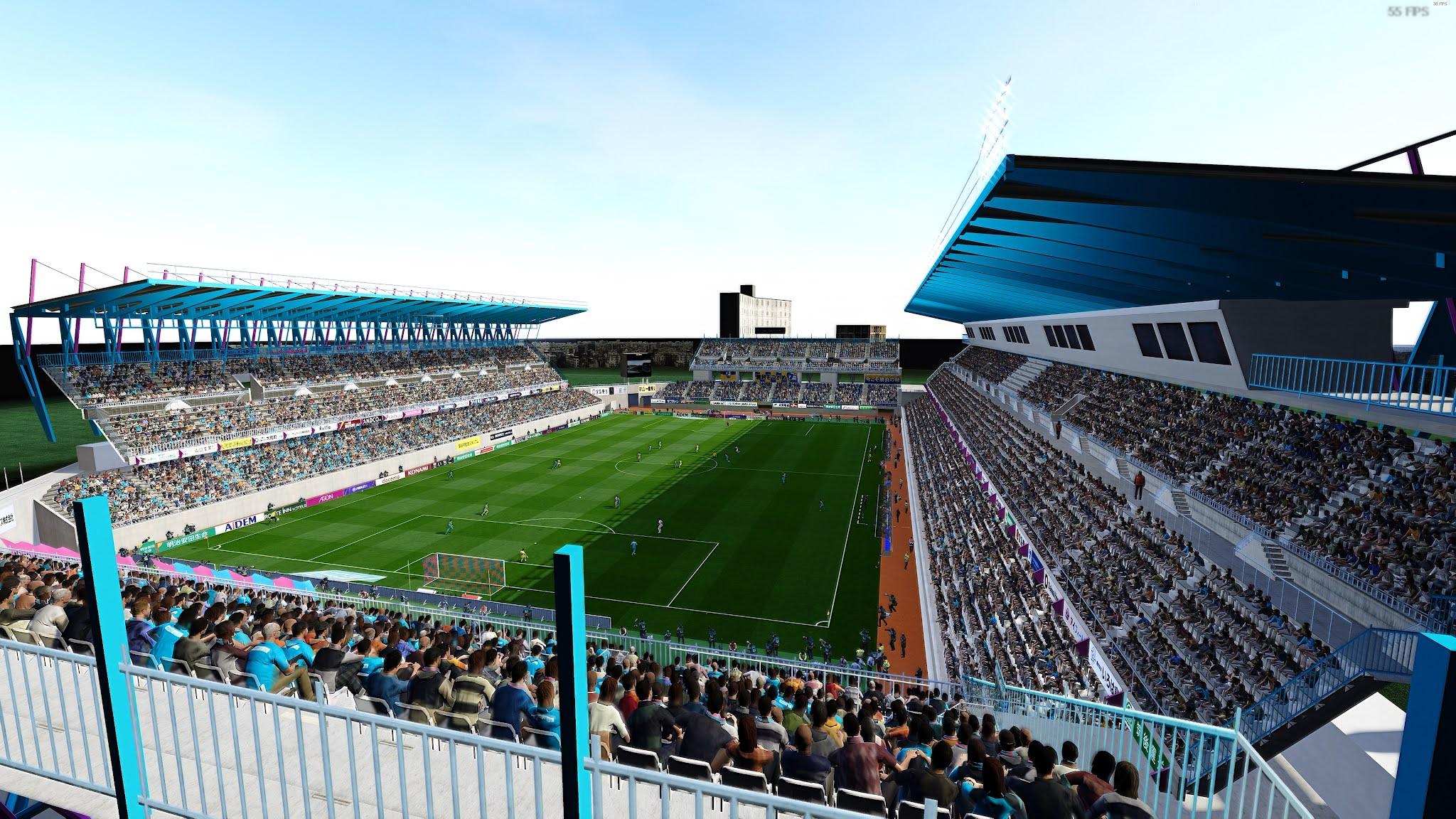 PES 2021 Ekimae Real Estate Stadium (Tosu)