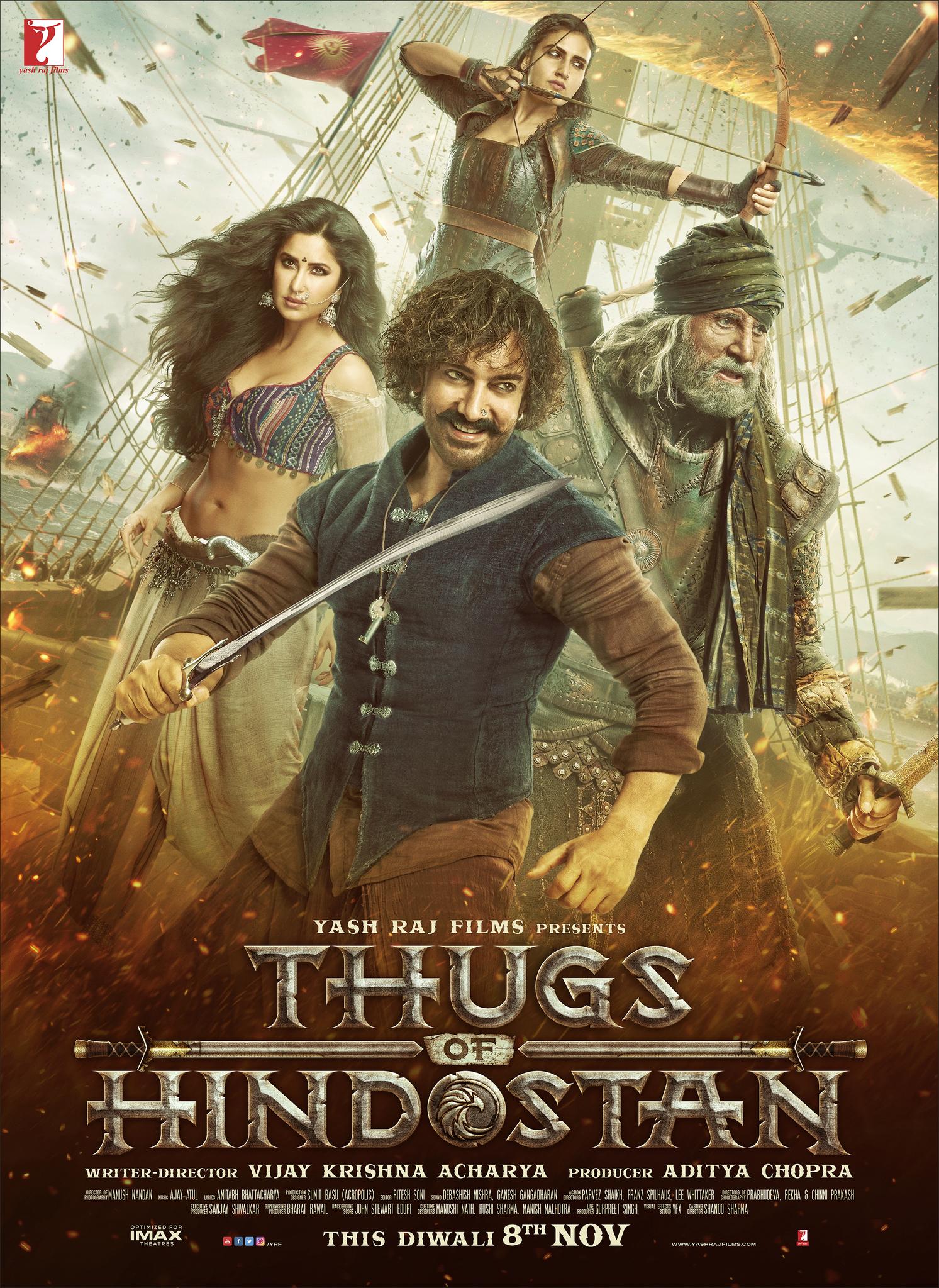 Thugs of Hindostan (2018) 1080p BluRay x265 HEVC 10bit AAC – [Walter]