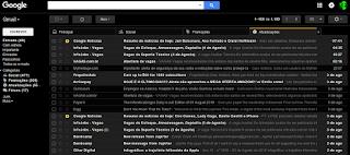 Novo Gmail o que agrada mais visualmente