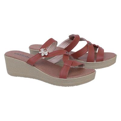 Sandal Wedges Wanita Catenzo SM 206