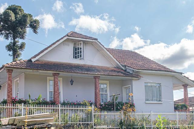 Casa na Avenida Anita Garibaldi - vista da lateral