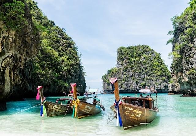 thailand phuket koh phi phi island tour