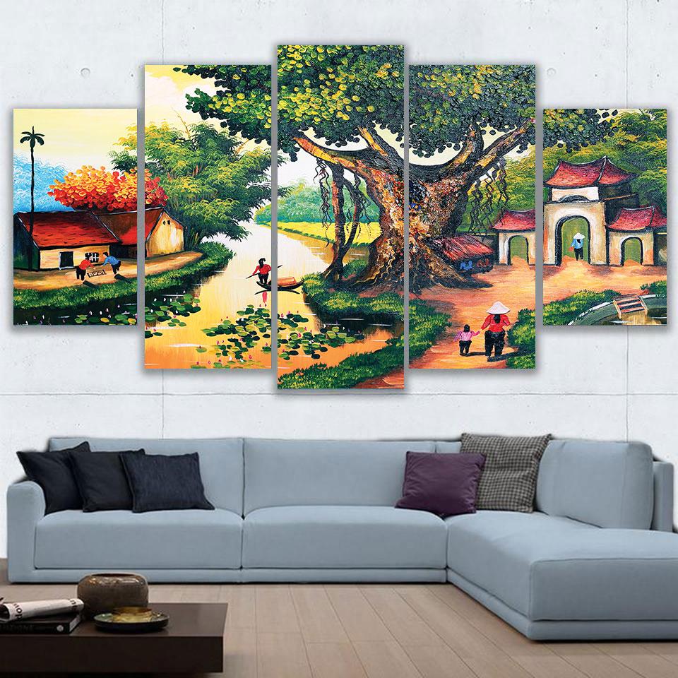 Tranh Đồng Quê MSP_T10