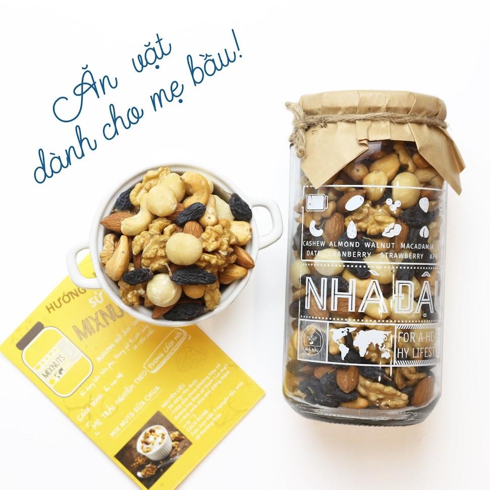 [A36] Mix hạt dinh dưỡng Mẹ Bầu nên ăn để thai kỳ khỏe
