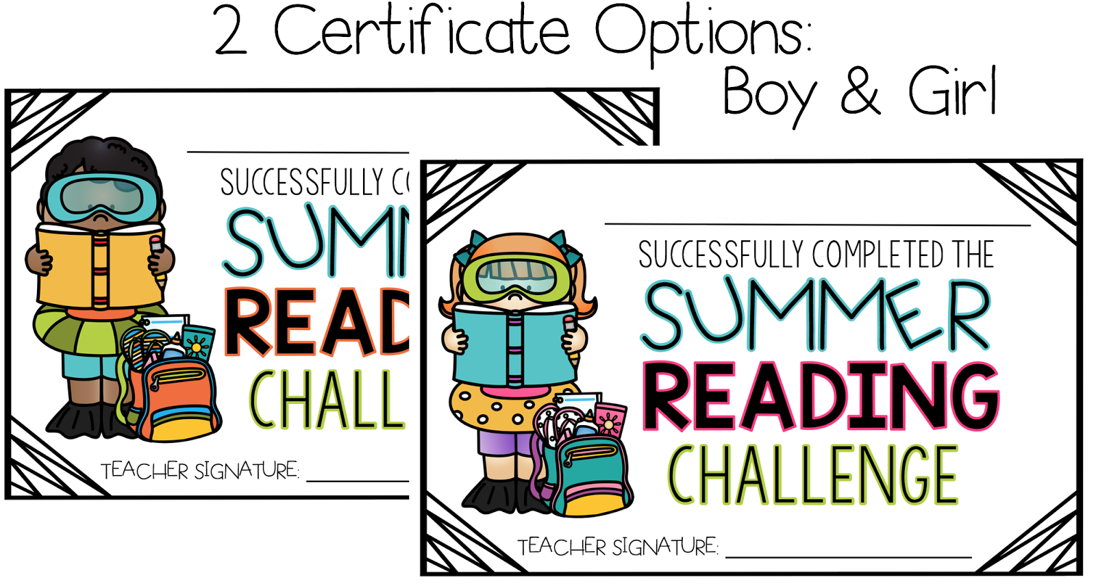 It's just a graphic of Printable Reading Certificates with preschooler
