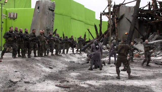 Behind the Scene movie War for the planet of the Apes