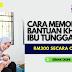 Cara memohon Bantuan Khas Ibu Tunggal sebanyak RM300,  cuba sekarang