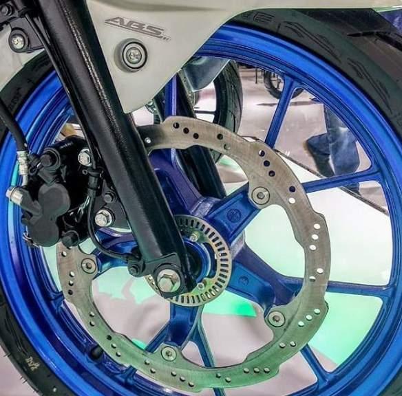 Rem ABS di Motor 150cc