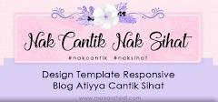 Design Template Responsive Blog Shaklee Atiyya Cantik Sihat