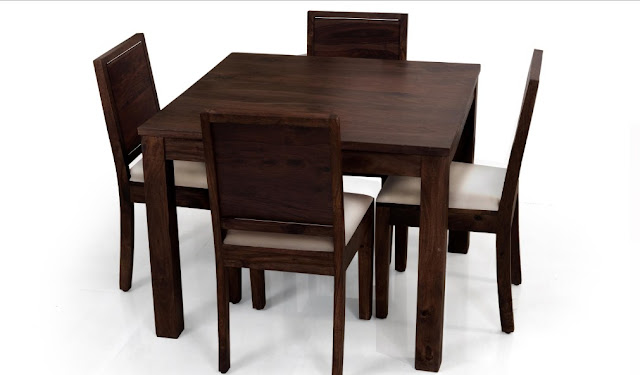 Contoh Model Meja Makan Kecil Kayu Jati untuk ruang makan kecil