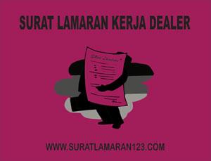 Contoh Surat Lamaran Kerja Dealer Yang Baik dan Benar