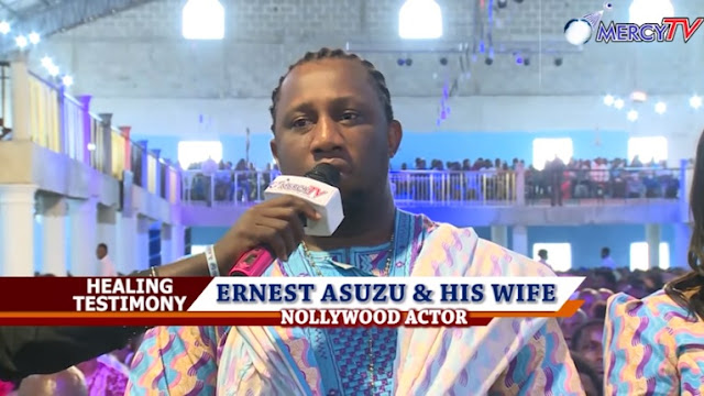 Nollywood Actor Ernest Asuzu Healed From Stroke, Receives Millions And A Car from a Prophet in Delta State