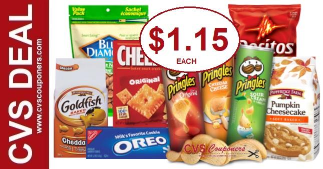 Huge Savings on Snacks at CVS 12-8-12-14