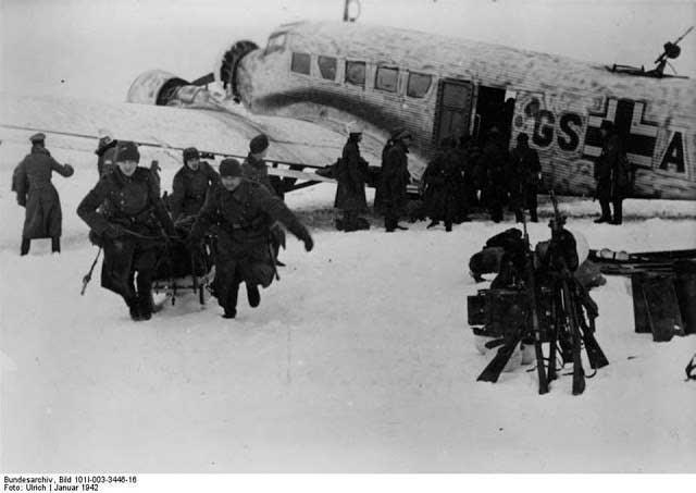 Demyansk airlift January 1942 worldwartwo.filminspector.com