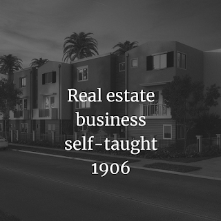 Real estate business self-taught