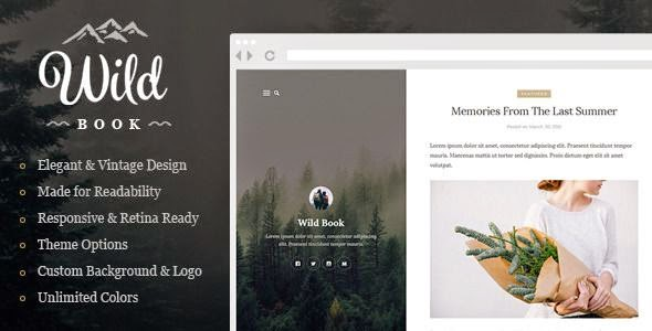 Best Vintage and Elegant WordPress Theme