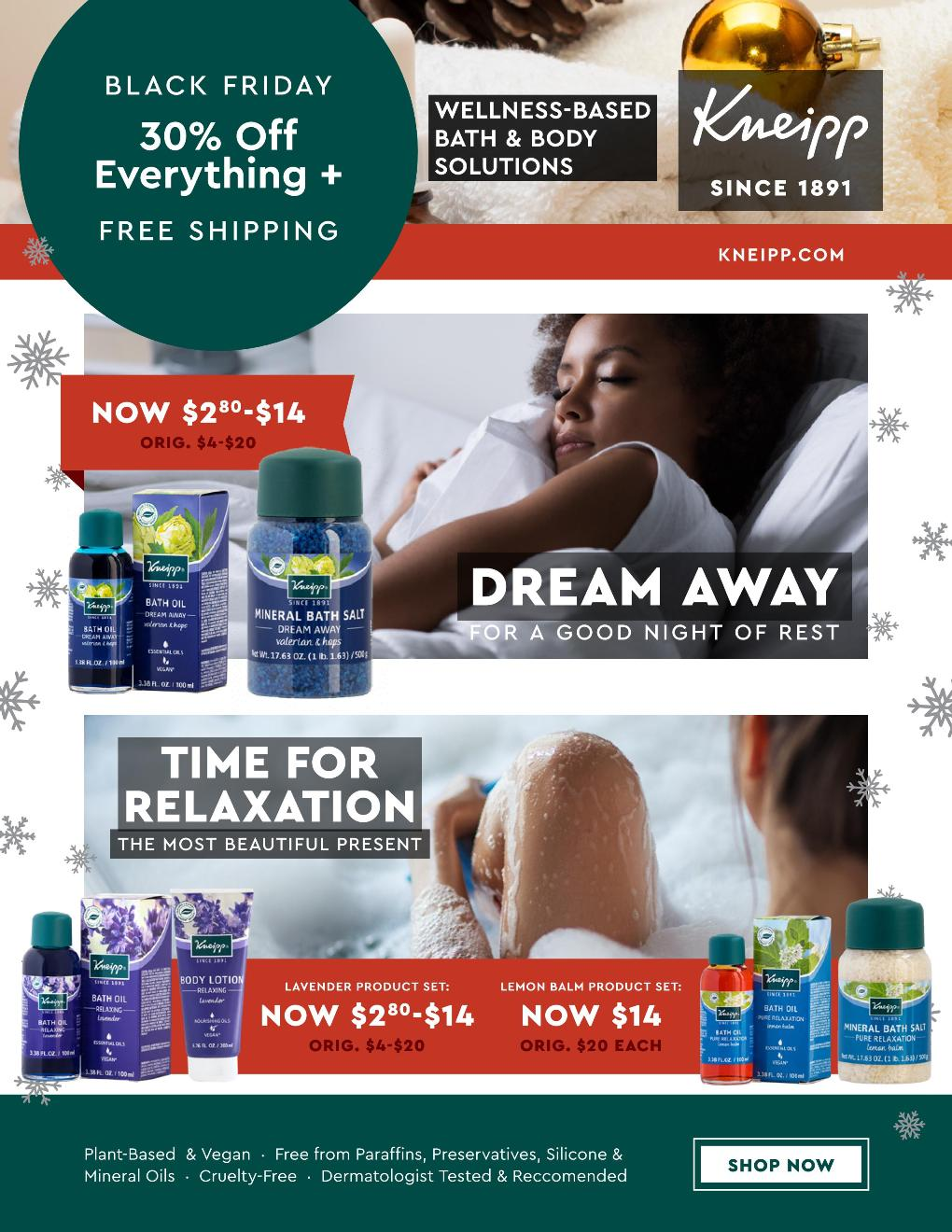 Kneipp Black Friday page 3