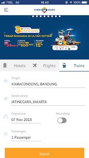 Tips Mencari Tiket Kereta Bandung Jakarta yang Murah dan Cepat