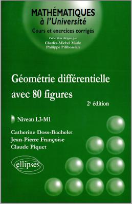 Télécharger Livre Gratuit Géométrie différentielle Avec 80 figures, niveau L3-M1 pdf