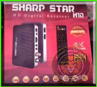 فلاشة رسيفر بث رقمى SHARP STAR H10