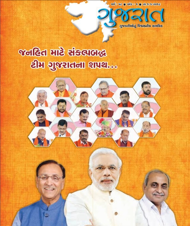 Gujarat Pakshik Magazine Current Affairs Ank No - 1