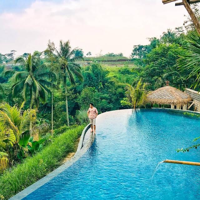 Lokasi, Harga Radjendra Resort & Resto Bogor, Penginapan Nuansa ala Ubud
