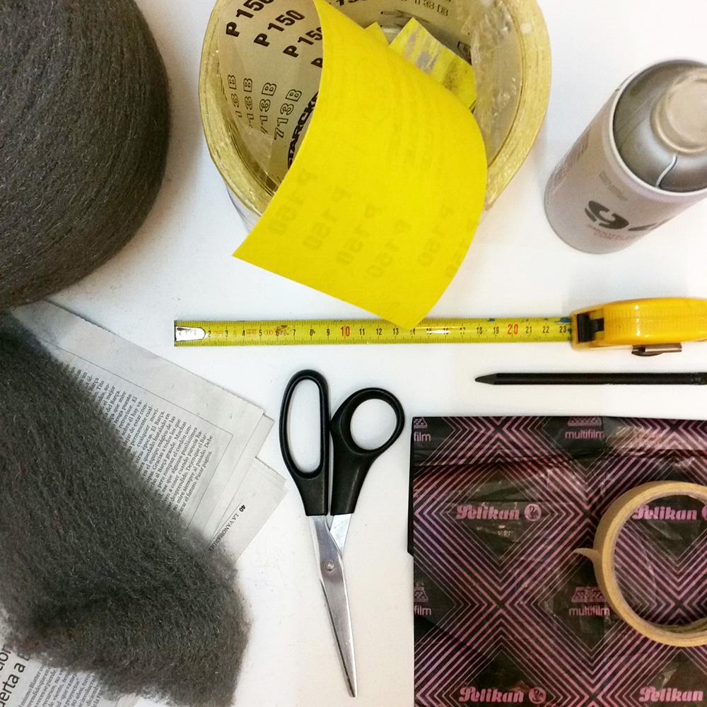 Paso A Paso - Dos taburetes de madera - Materiales y herramientas