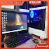 PC GAMING RYZEN 5 3400G FULSET MONITOR LED 19 INCI