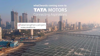 Tata Motors partners with what3words - Redefines navigation with just 3 words