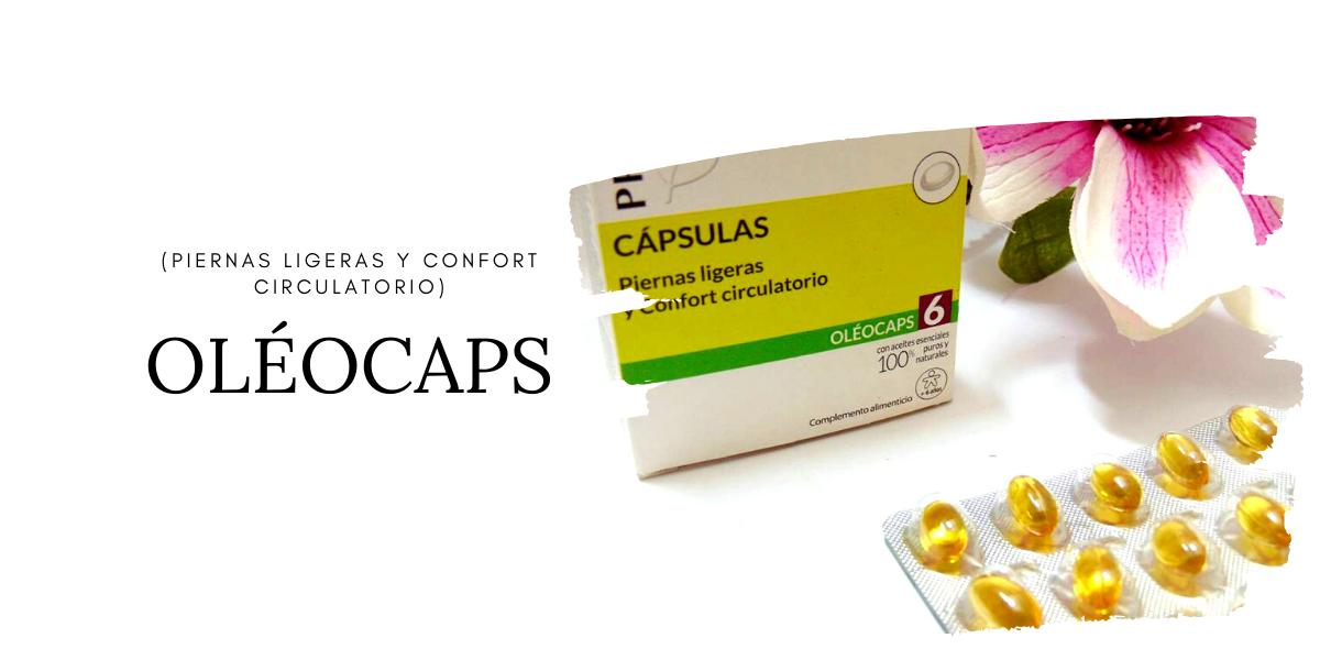 OLÉOCAPS 6 (Piernas ligeras y confort circulatorio)