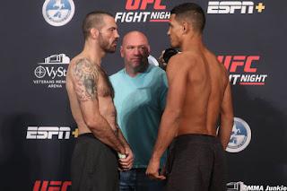 matt brown miguel baeza UFC On ESPN 8 Faceoff