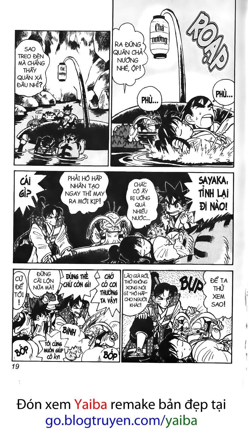 Yaiba chap 50 trang 18