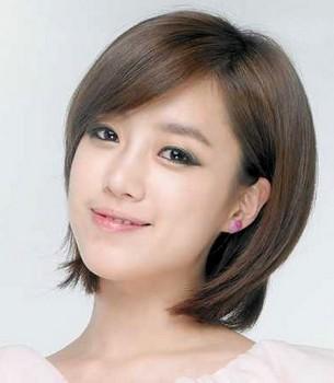 Gaya rambut pendek ala wanita Korea