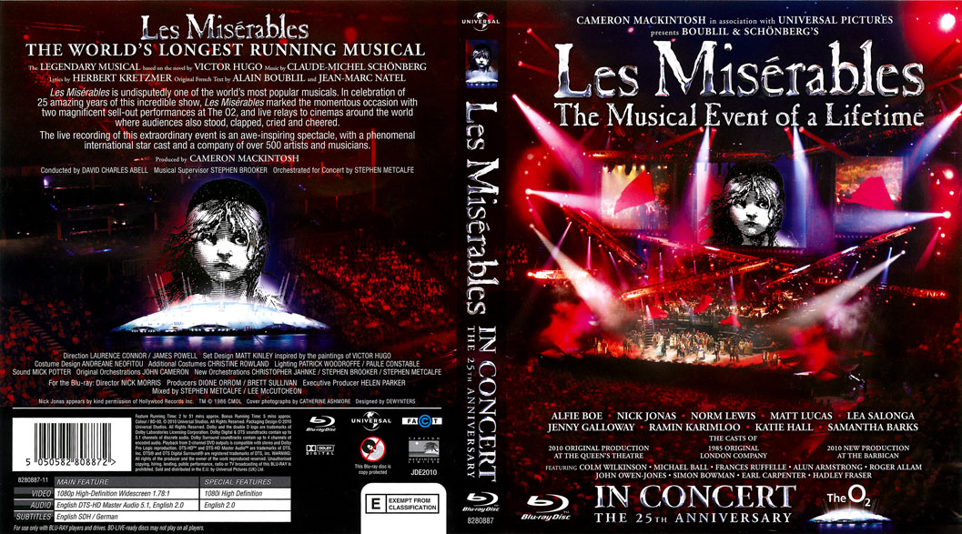 Les Miserables in Concert - The 25th Anniversary 1080p