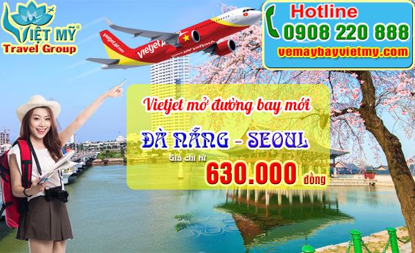 Vietjet tưng bừng khai trương đường bay Đà Nẵng - Seoul