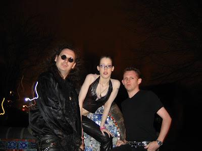 Lesbian Bed Death 2005 L-R Magic Andy, Luci4, Mr Peach