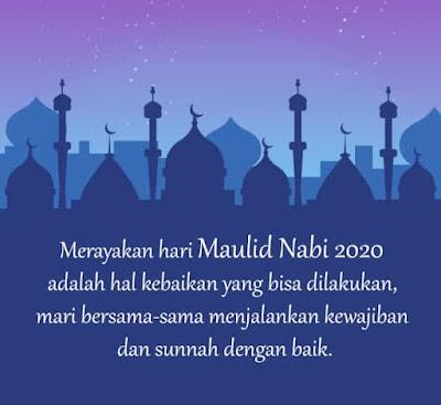 kata kata bijak ucapan selamat maulid nabi 2020